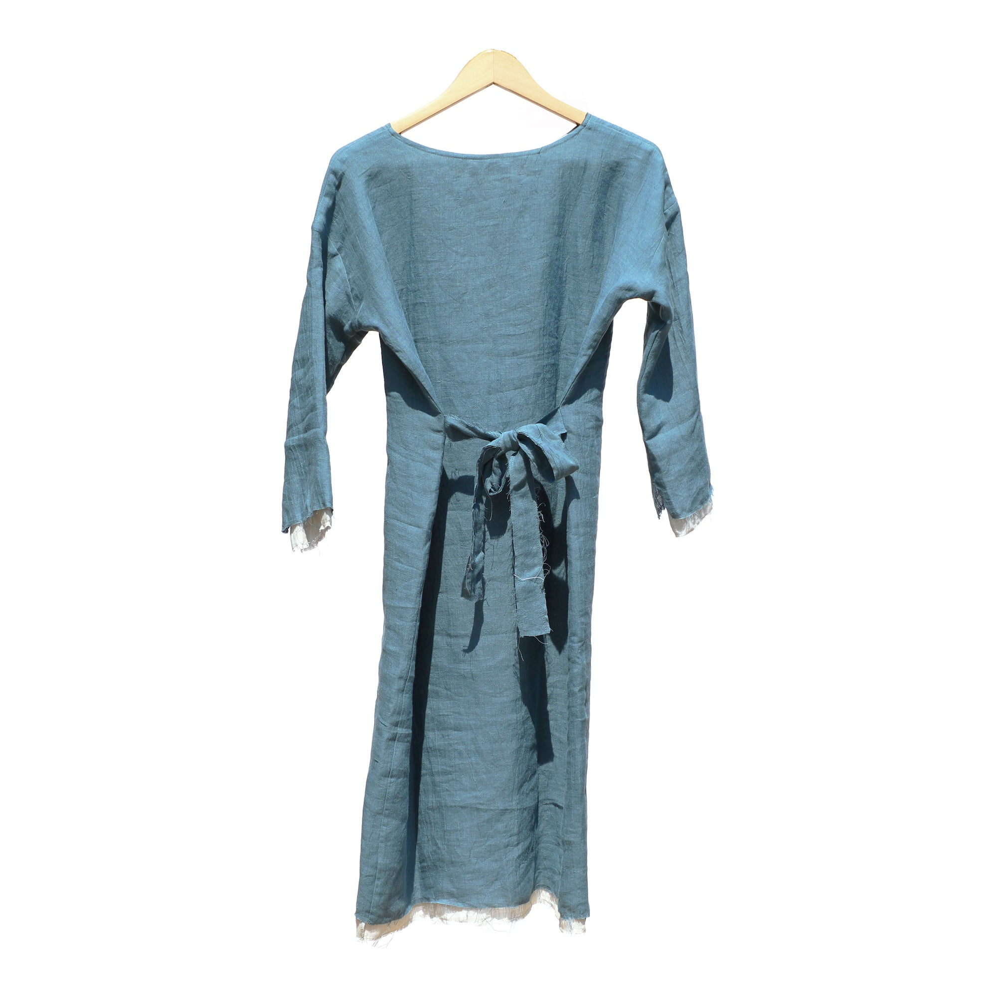 Double Layer Dress - Blue / Grey