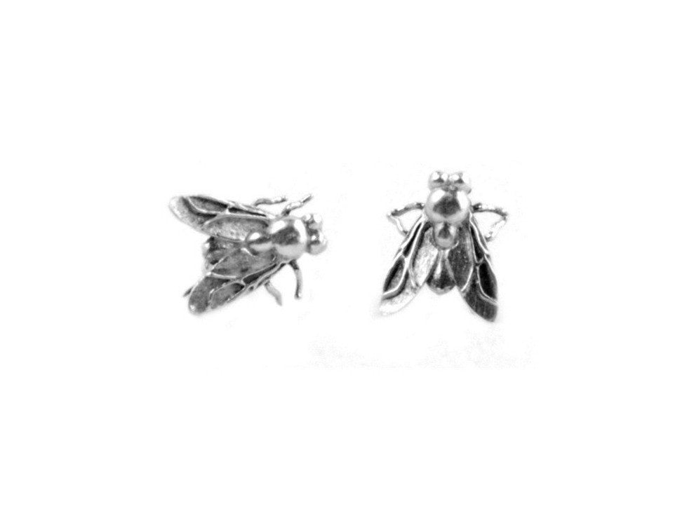 Tiny Fly Earrings