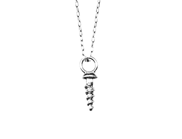 Tiny Screw Necklace