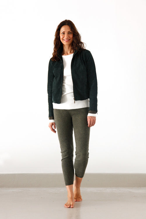 Womens Suede Jacket