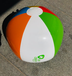 Colourful beachball