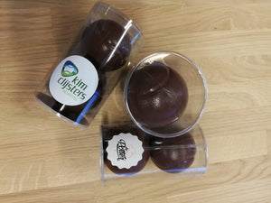 KCA milk chocolate tennis balls - two