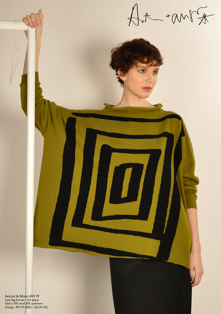 Square in Square Knit