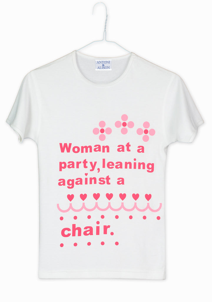 Woman at a Party - T.shirt (Pieces from the Past)