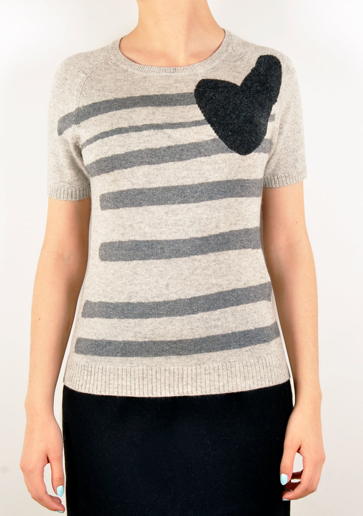 Heart & Stripes Knit (A&A Archive)