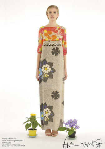 Multi Flower Dress