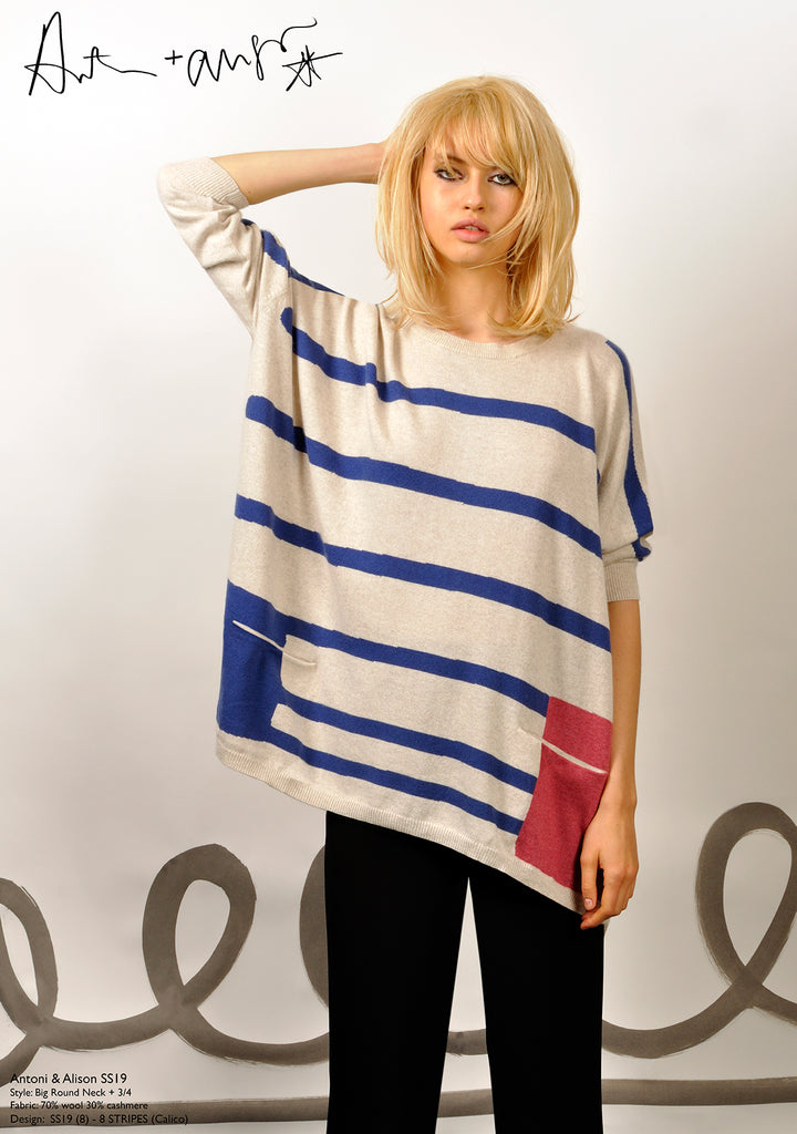 8 Stripes Knit