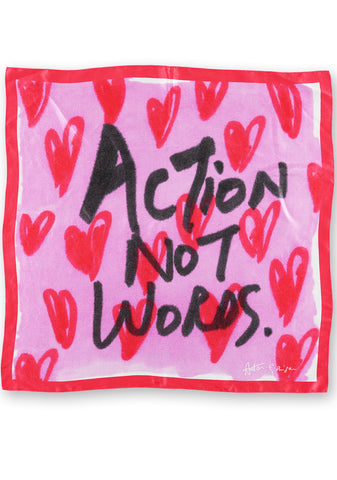 Action Not Words Scarf