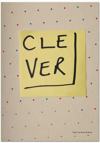 Poster 4 - Clever (edition of 20  - signed)