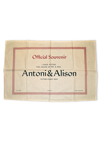 House of Antoni & Alison Tea Towel
