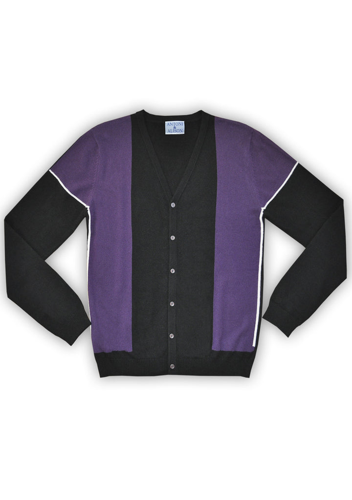 Parallel Purple Knit