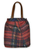 Red Tartan Shopper