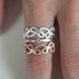 DELICATE LACE RING