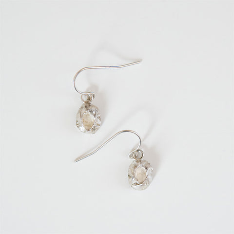MEDIUM BARNACLE EARRINGS silver