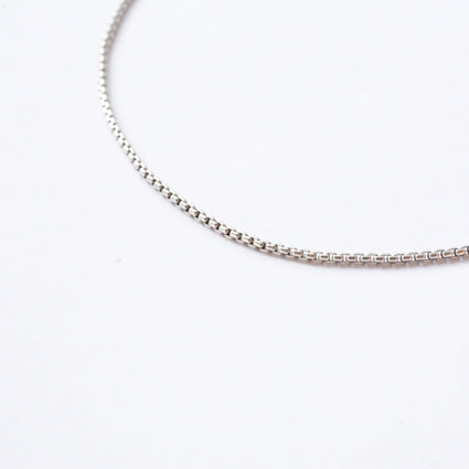 LUX {sterling silver chain}