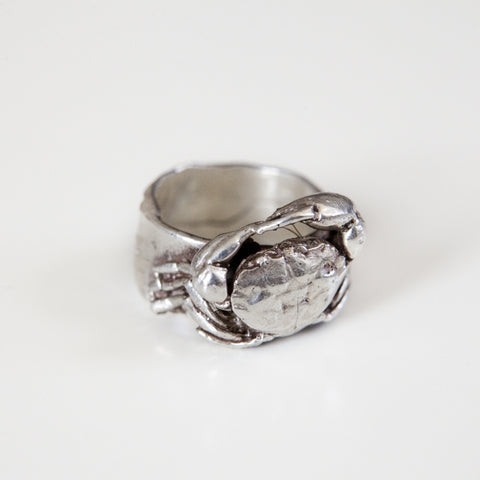 CRAB RING {silver}