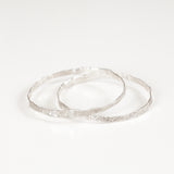 IMPRINTED BANGLE {silver}