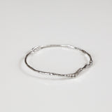 Branch Bangle in Recycled Sterling Silver