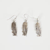 FEATHER PENDANT silver