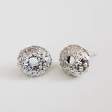 Small Sea Urchin Studs {silver}