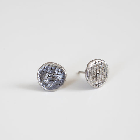 NET IMPRINTED STUDS {silver}