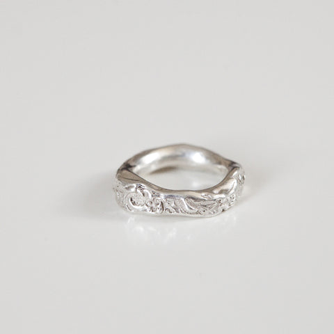 IMPRINTED BAND {silver}