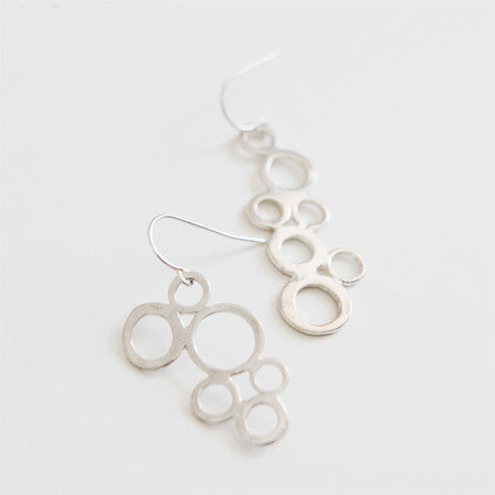 SEAFOAM EARRINGS silver