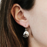 SEASHELL EARRINGS silver
