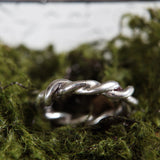 ROPE RING {silver}