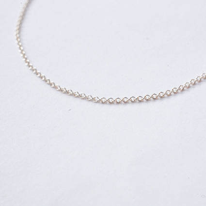 ORIGINAL {sterling silver cable chain}