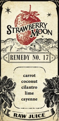 Remedy No. 17 - carrot coconut cilantro lime cayenne