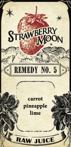 Remedy No. 5 - carrot pineapple lime