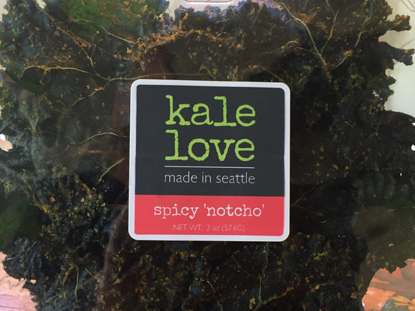 Kale Chips - spicy 'notcho