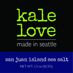 Kale Chips - San Jaun island sea salt