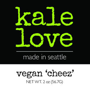 Kale Chips - vegan 'cheez'