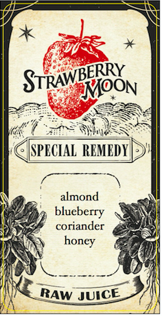 Remedy No. 37 almond blueberry coriander & honey nut mylk
