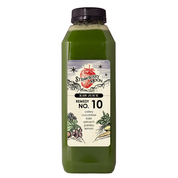 Remedy No. 10 - celery cucumber kale spinach parsley lemon