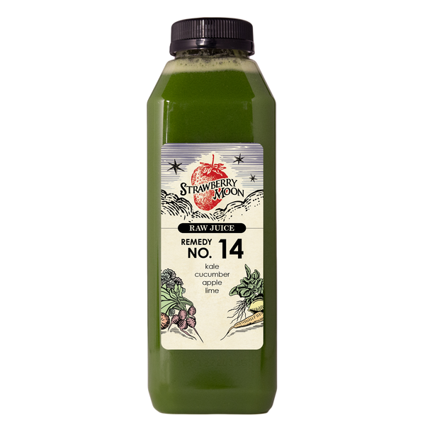 Remedy No. 14 - kale cucumber apple lime