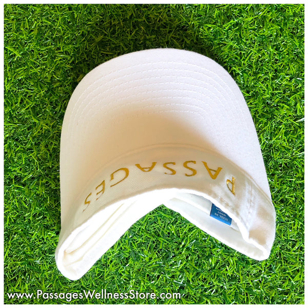 3 Panel - White Signature Fashion Visor