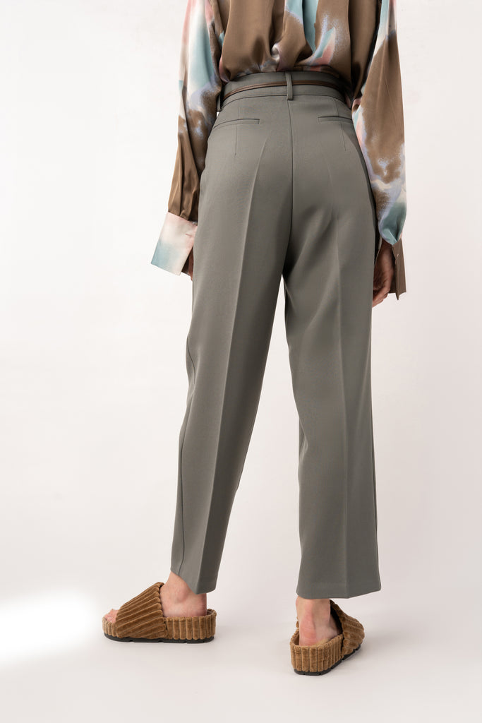Frost-Grey Green Pants