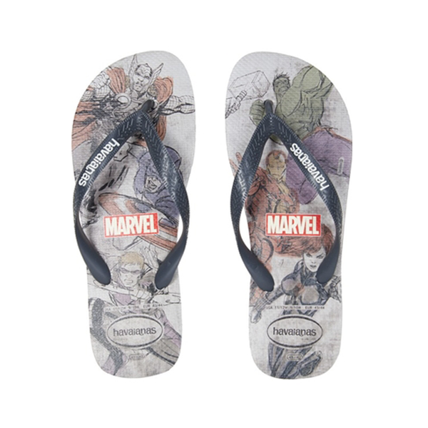 Havianas Mens Top Marvel Avengers Sandals