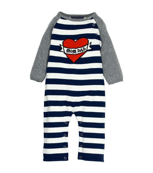 Love Mom & Dad Knit Jumpsuit