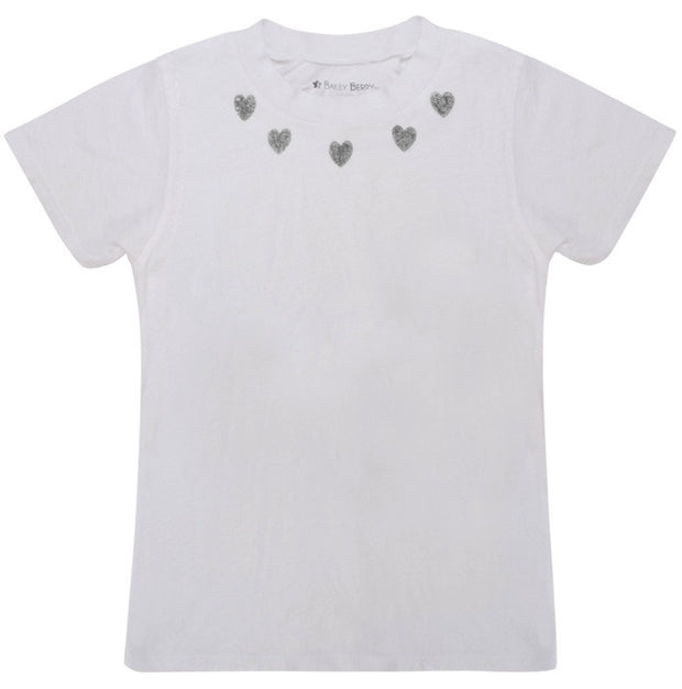 Heart Necklace Tee