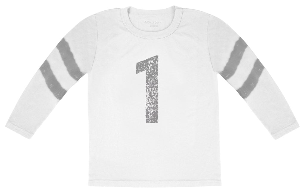 No. 1 Stripes Long-Sleeve Tee