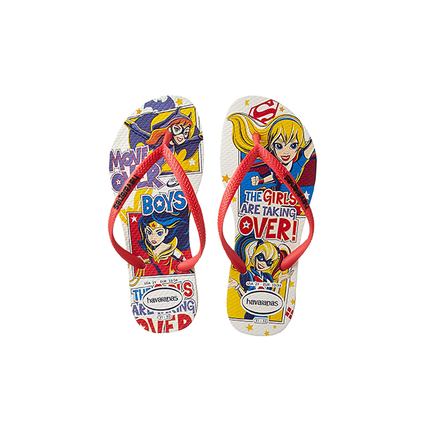 Girls DC Super Hero Sandals