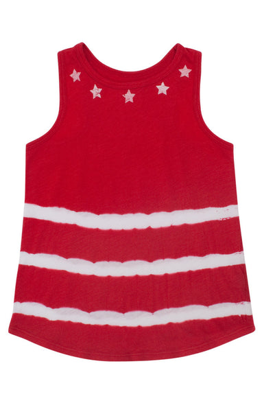 Star Necklace Stripe Tank