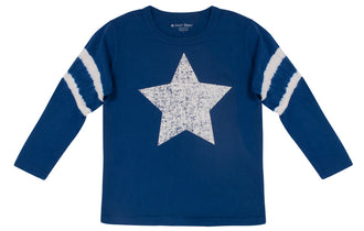 Star & Stripes Long-Sleeve Tee