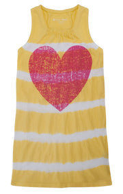 Heart Stripe Dress