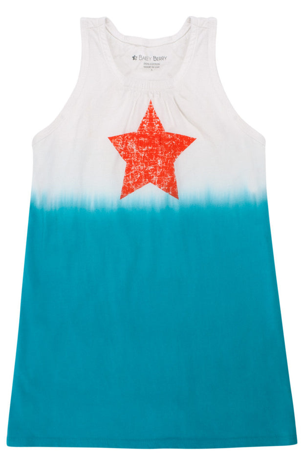 Dip-Dyed Star Dress
