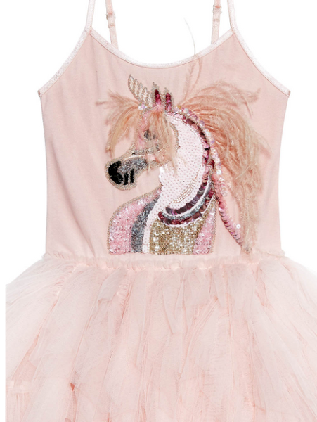 Mystical Unicorn Tutu Dress - Orchid